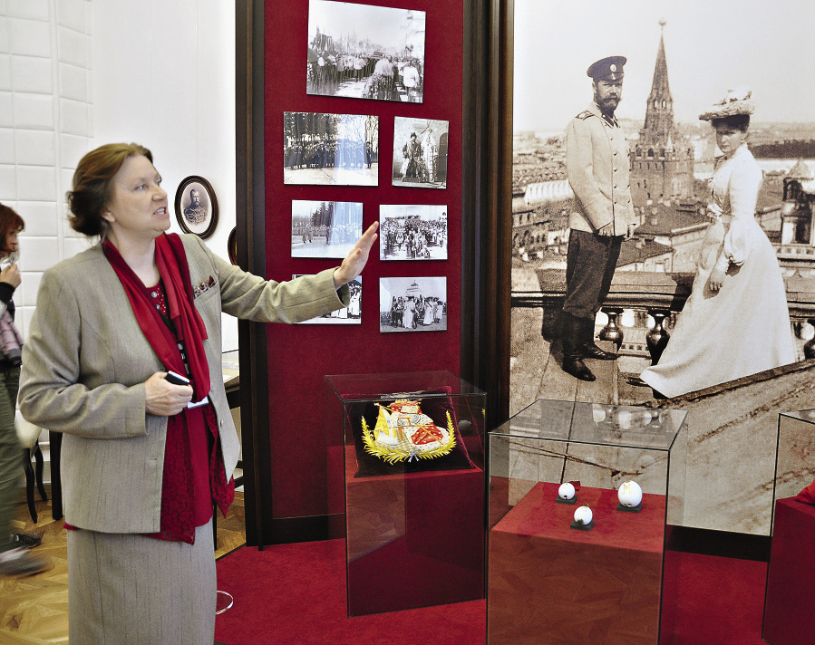 A tour in the recently opened Museum of the Family of Emperor Nicholas II in Tobolsk.