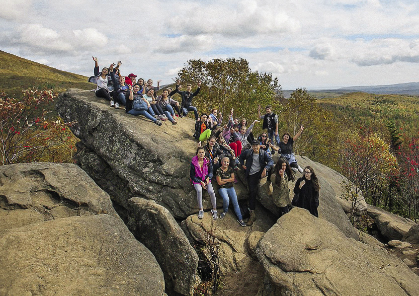 "Frog Butte (""Lyagushka"") is a 20 million-year-old rock formation."