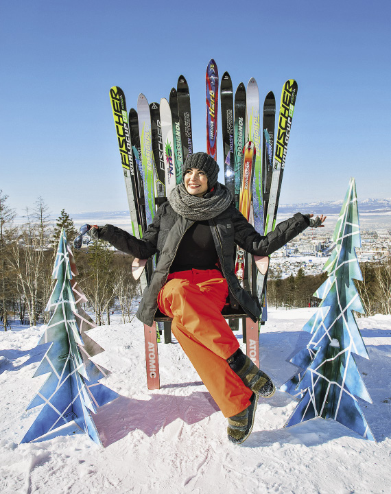 Today, Gorny Vozdukh ski resort is widely acknowledged as the best downhill ski resort in Russia.