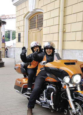 The Harley Days bike festival draws 90,000 participants and guests from 25 different countries.