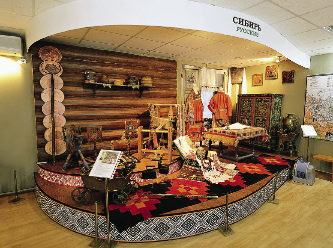 The Museum of the History and Culture of the Peoples of Siberia and the Far East: from the Paleolithic Age to modern day.