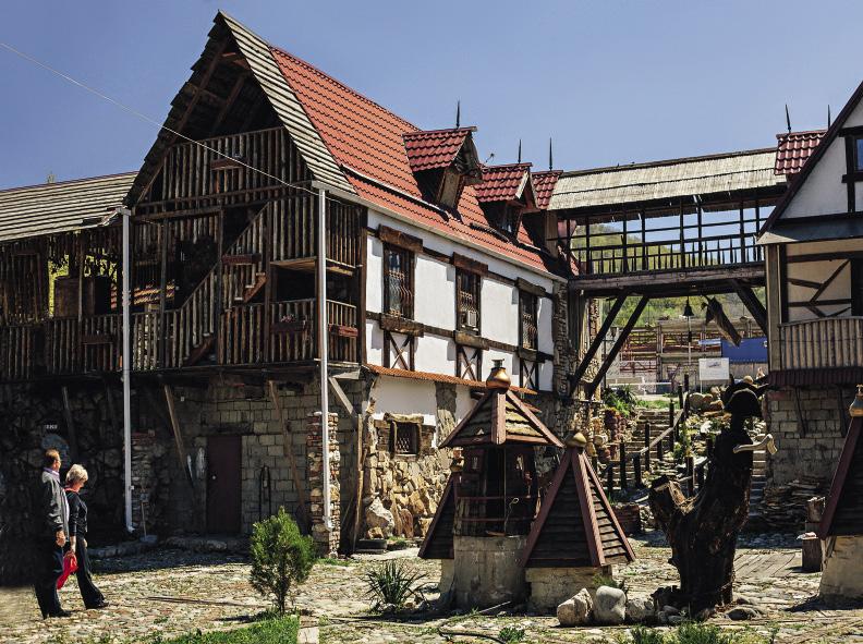 """Belovodye (""""Whitewater"""") Museum in Kamennomostskiy."""