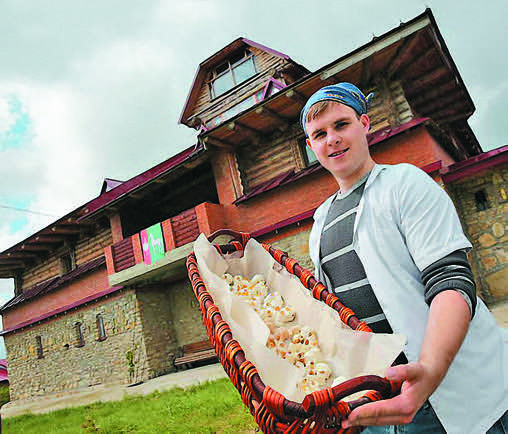 In Maslovska, they've learned to make real French cheese.