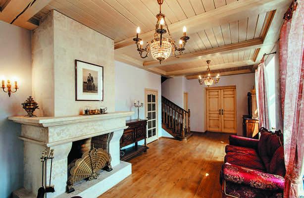 Skornyakovo-Arkhangelskoye Manor, a cozy hotel in a restored former textile factory.